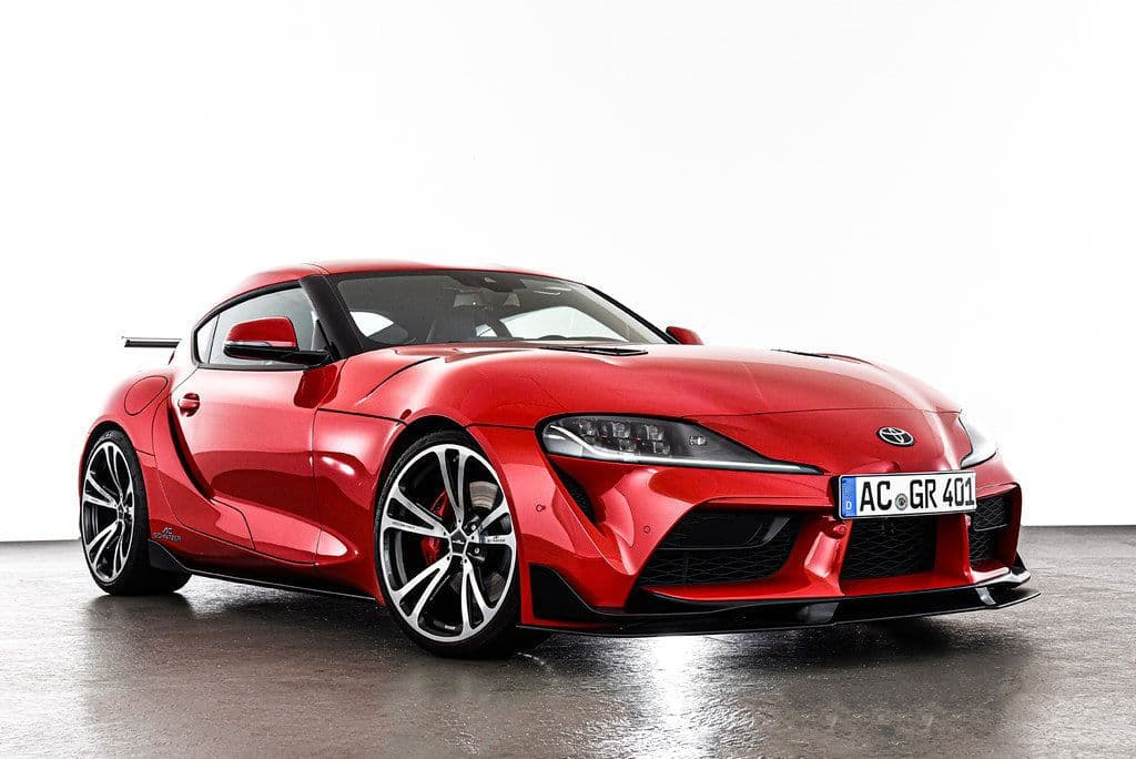 "AC Schnitzer Toyota A90 GR Supra 20"" AC3 Forged Bi-colour Alloy Wheel Set With Tyres - ML Performance UK"