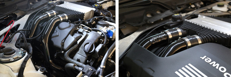 BMS BMW Elite Aluminium Chargepipe M2 Competition, M3 & M4 (S55) - ML Performance