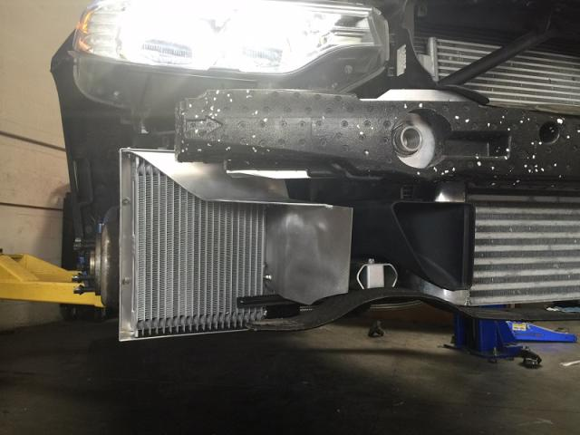 Evolution Racewerks (ER) BMW N55 Oil Cooler Upgrade (M135i, M235i, 335i & 435i) - 435i with Shroud Kit