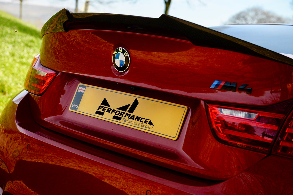 MForce BMW F82 F83 M4 Carbon Rear Boot Spoiler