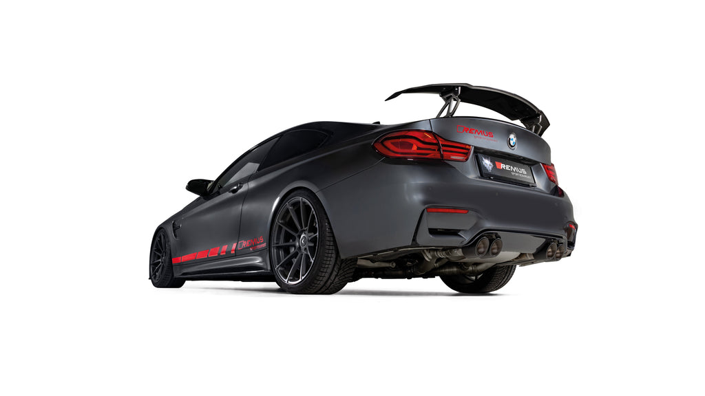 Remus BMW F82 M4 Competition Rear Silencer | ML Performance UK