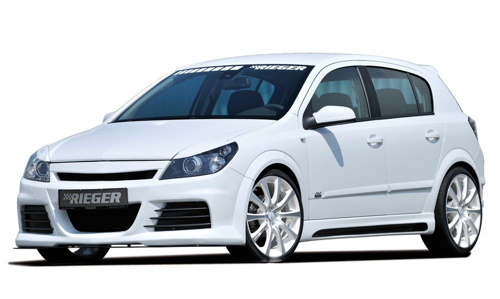 Rieger Vauxhall Opel Astra H Front Bumper - ML Performance UK