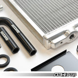 034Motorsport Audi Supercharger Heat Exchanger Upgrade Kit (B8/B8.5 S4) - ML Performance