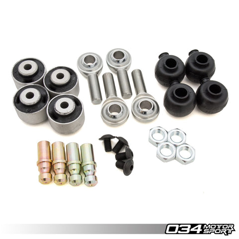 034Motorsport Rebuild Kit, Density Line Adjustable Front Upper Control Arms For B5/B6/B7 - ML Performance