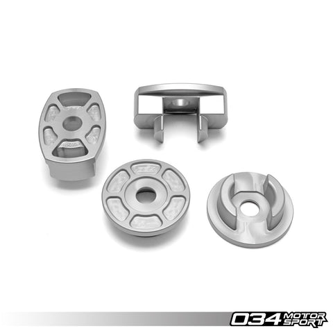 034Motorsport Audi B9 Billet Aluminum Rear Subframe Mount Insert Kit (A4, S4, A5 & Allroad) ML Performance UK