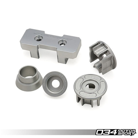 034Motorsport Audi Drivetrain Mount Insert Package, Billet Aluminum (B8/B8.5 A4/S4/RS4, A5/S5/RS5, Q5/SQ5) ML Performance UK