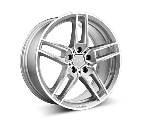 "AC Schnitzer BMW F07 GT 20"" Type VIII Silver Forged Alloy Wheel Set (Inc. 530d, 535i, 535i & 550i) - ML Performance UK"