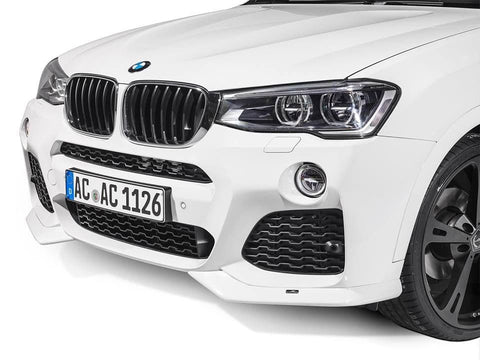 AC Schnitzer BMW F25 M Sport Front Spoiler Elements (Inc. X3 28i, X3 30dx & X3 35ix) - ML Performance UK