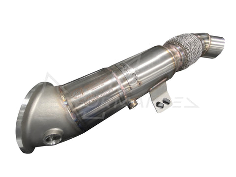 Active Autowerke BMW B58 F22 F30 F32 Catted Downpipe (Inc. M240i, 340i & 440i) - ML Performance UK