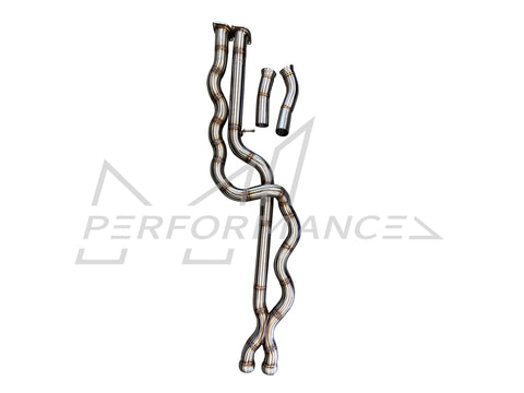 Active Autowerke BMW F87 LCI M2 Competition Equal Length Mid Pipe - ML Performance UK