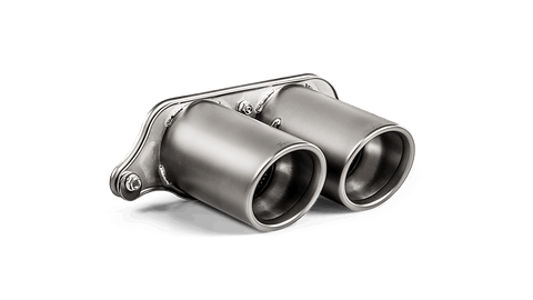 Akrapovič Porsche 991.2 911 Titanium Tail Pipe Set ECE Approved (GT3, GT3 RS & Speedster) - ML Performance UK