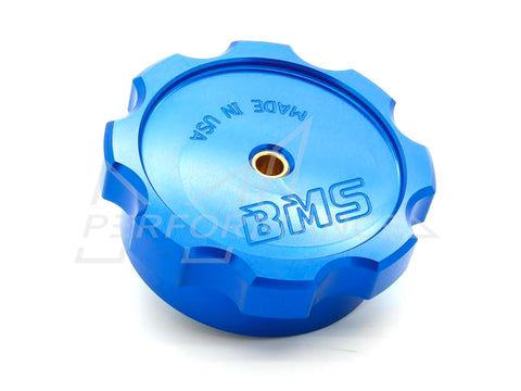 BMS Audi BMW Upgraded Billet WMI tank cap with safety check valve F20 F21 F22 - ML Performance UK