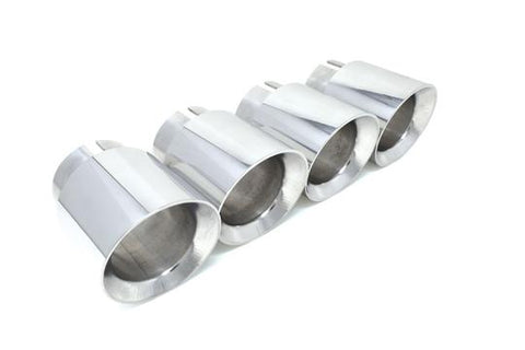 "BMS BMW F90 M5 Billet 3.75"" Exhaust Tips - ML Performance UK"