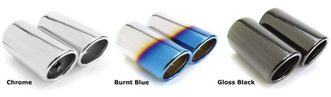 BMS BMW E Chassis E90 E92 Exhaust Tips (Pair) (323i, 325i, 328i & 330i) - ML Performance UK