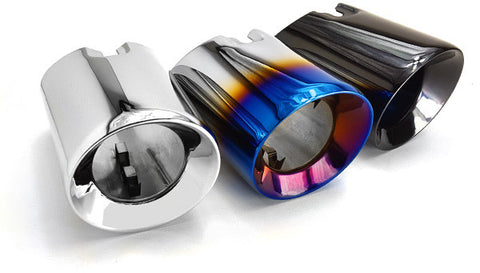 "BMS BMW F Chassis N55 & B58 3.5"" Slip-On Exhaust Tips - ML Performance UK"