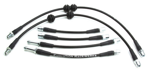 BMS BMW E82 E92 Stainless Steel Brake Line (135i, 335i & M3) ML Performance UK