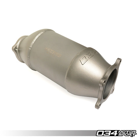 034Motorsport AUDI CAST STAINLESS STEEL RACING CATALYST, B9 A4/A5 & ALLROAD 2.0 TFSI -ML Performance UK