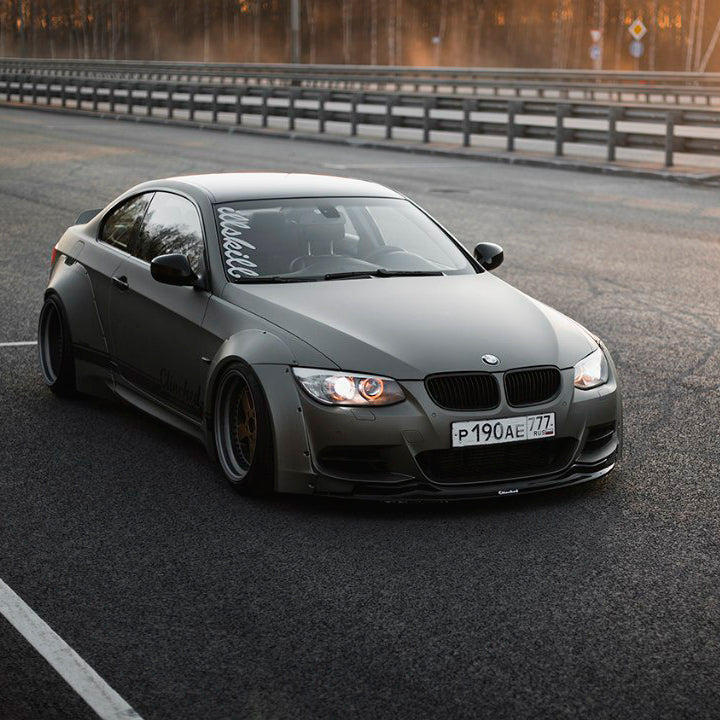 Clinched BMW E92 Wide Body Kit without Ducktail
