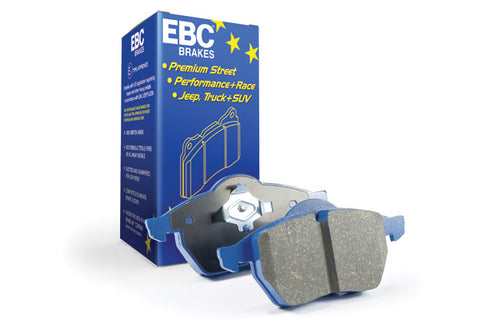 EBC Audi Seat Skoda VolksEBC Audi Seat Skoda Volkswagen Street and Track Rear Brake Pads - TRW Caliper (Inc. 8P A3, 1P Leon, 1Z Octavia & MK6 Golf GTI) | ML Performance UK