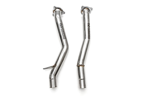 Fabspeed Porsche 958 S/GTS Secondary Cat Bypass Pipes - ML Performance