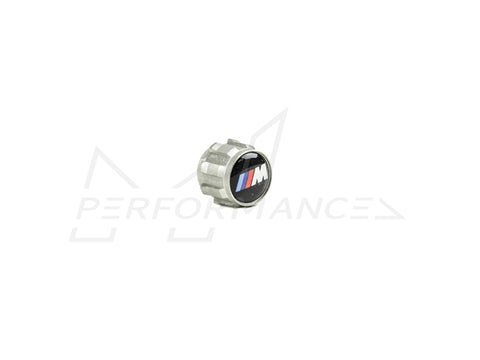 Genuine BMW M Performance M Wheel Tyre Air Valve Caps (Inc. M135i, M240i, M340i, 335i & Z4 M40i) - ML Performance UK