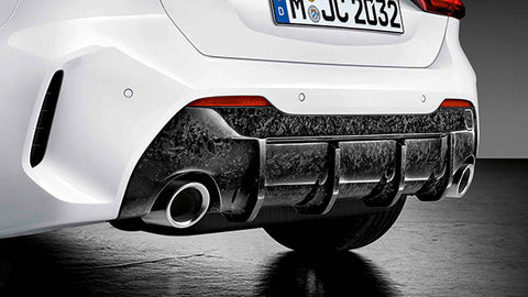 Genuine BMW M Performance F40 Rear Carbon Diffuser (Inc. 118i, 120dx & M135i) - ML Performance UK