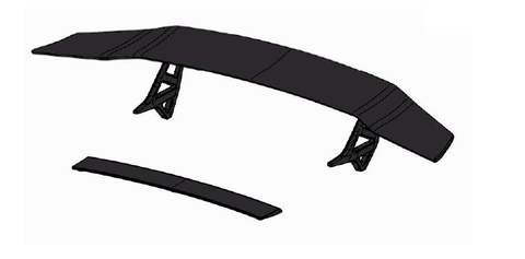 Genuine Lamborghini LP670-4 Murcielago SV Rear High Wing - ML Performance UK