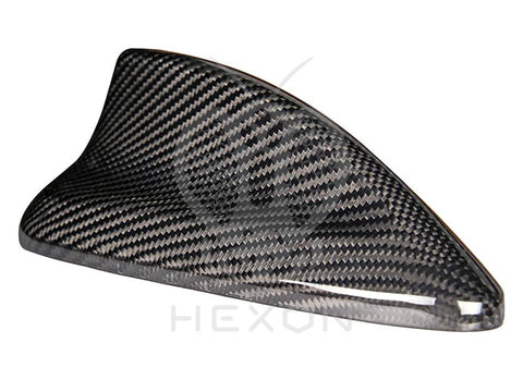 Hexon BMW F Chassis Pre-Preg Carbon Fibre Shark Fin Cover (Inc. 335i, M2, M3, M4, M5, X5M & X6M) - ML Performance UK
