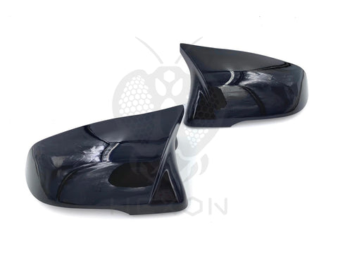 Hexon BMW Toyota Hexon Style Gloss Black Mirror Covers (Inc. F40 M135iX, G29 Z4 and A90 Supra) - ML Performance UK