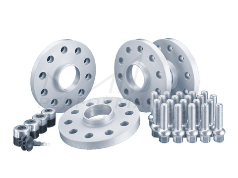 H&R PORSCHE 911 996 997 986 Silver Wheel Spacer Kit with Lockers & Bolts (Inc. Carrera, Boxster, & Turbo S) - ML Performance UK