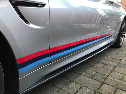 M-Force BMW F80 F82 F83 Carbon Sideskirts (M3 & M4) - ML Performance UK