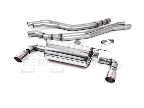 Milltek BMW B58 F20 F21 M140i Cat-Back Exhaust System