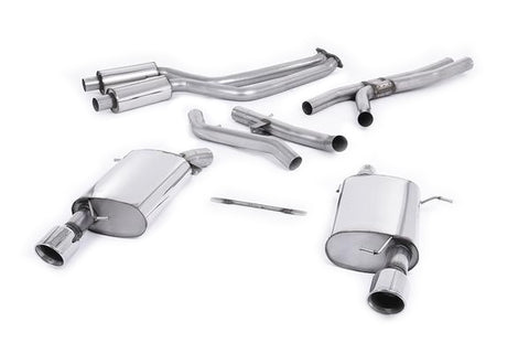 "MillTek BMW 3 Series E92 335i 2.5"" Full Exhaust System- ML Performance UK"