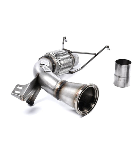 MillTek Mini Large Bore Downpipe with Catalyst Delete (OE Cat-Back / Track Only)