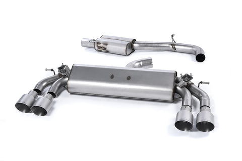 MillTek Volkswagen Golf MK7 R 2.0 TSI 300PS Cat-Back Exhaust - ML Performance UK