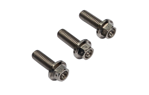 Mosselman N54 N55 S55 Oil Thermostat Titanium GR5 Hex-Race Bolt Set (Inc. M135i, 335i, M2 & M4) - ML Performance UK