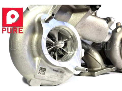 Pure Turbo BMW S55 Stage 2 HF Upgrade Turbos (M2 Competition, M3 & M4) - ML Performance UK