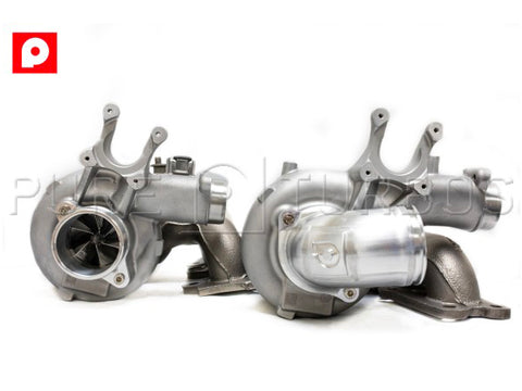 Pure Turbo BMW S55 Stage 2+ Upgrade Turbos (M2 Competition, M3 & M4) - ML Performance UK