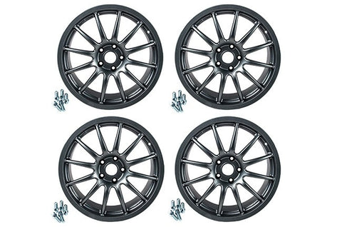 Racingline AudiVW 8.5J 19inch Alloy Wheels Stain Graphite Grey - ML Performance UK