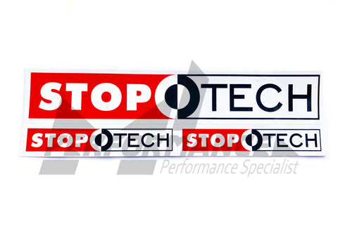 StopTech Set of 3 Stickers - ML Performance UK