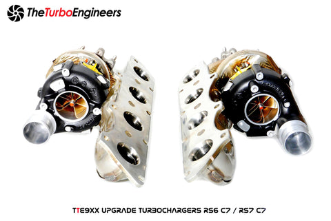 TTE Audi 4.0 TFSI Turbocharger Upgrade TTE9XX (RS6 RS7 S6 S7) ML Performance UK