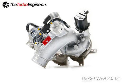 TTE VWAudi 2.0T TSI Turbocharger Upgrade TTE420 (A3, TT, Beetle & Golf) ML Performance UK