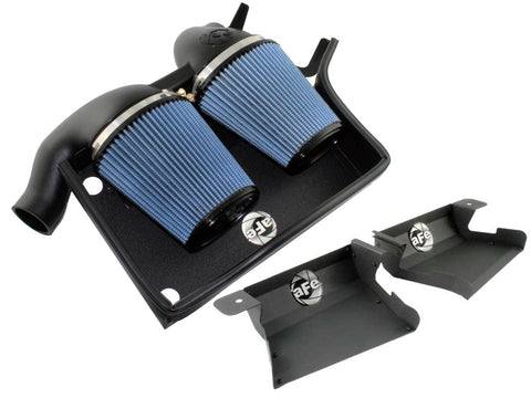 aFe BMW N54 Magnum FORCE Stage-2 Pro 5R Cold Air Intake with Scoop E90 E92 335i - ML Performance UK