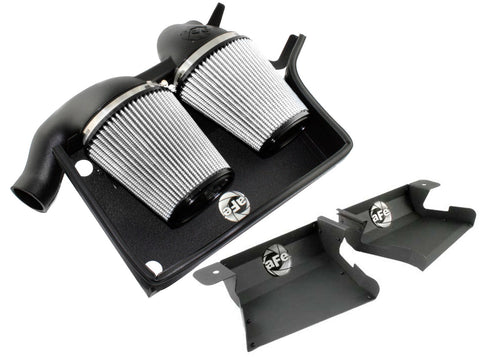 aFe BMW N54 Magnum FORCE Stage-2 Pro DRY S Cold Air Intake with Scoop E90 E92 335i - ML Performance UK