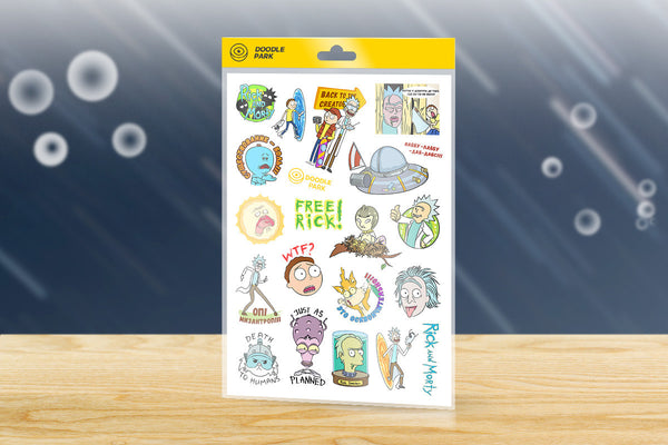 Sticker-Pack Rick and Morty