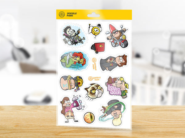 Sticker-Pack Gravity Falls vol. 1