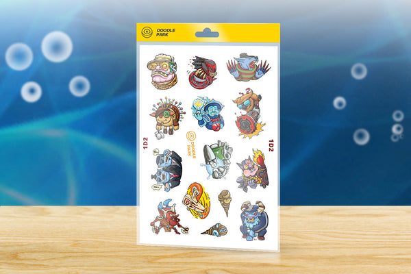 Sticker-Pack Dota 2