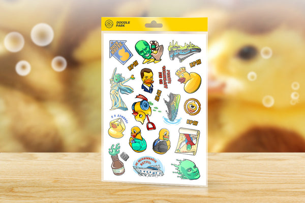 Sticker-Pack Duck House