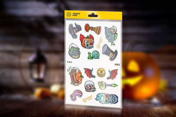 Sticker-Pack Halloween vol.1