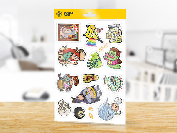 Sticker-Pack Gravity Falls vol.2